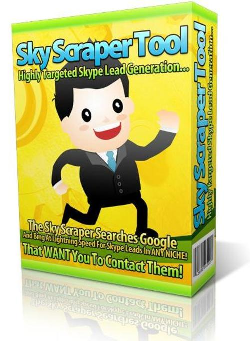 Pay for Sky Scraper Tool: Laser Targeted Skype Leads Software
