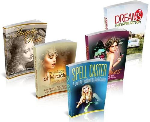 Pay for New Age Attraction Niche Packs (5 eBooks) - MRR