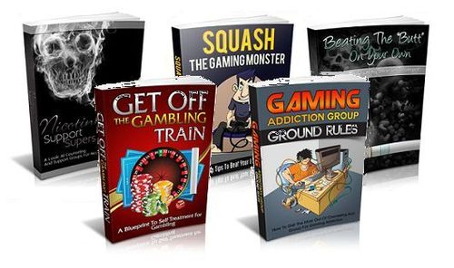 Pay for Break Addiction Niche Packs (5 eBooks) - MRR