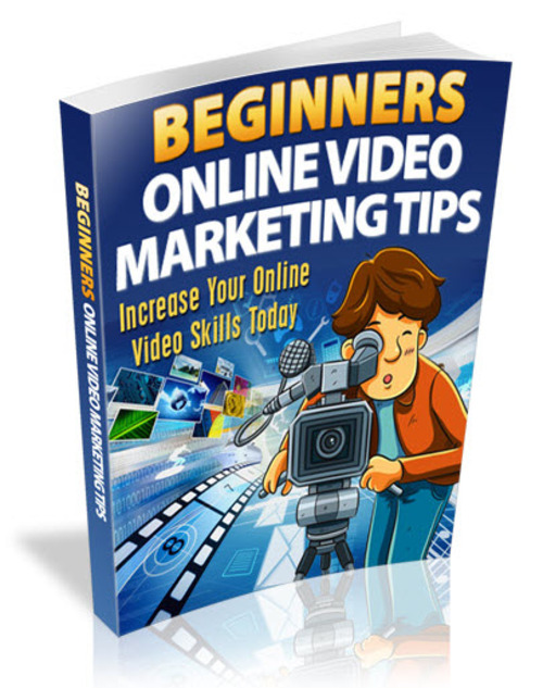 Pay for Beginners Online Video Marketing Tips MRR/ Giveaway Rights