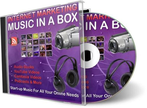Pay for Internet Marketing Music in a Box (PLR) - 101 Royalty Free Music Clips