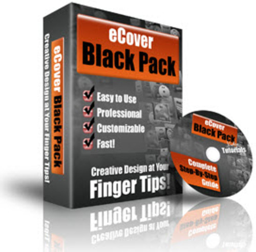 Pay for eCover Black Pack - PLR (Action Scripts)