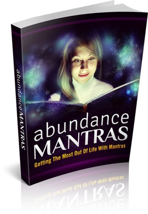 Pay for Abundance Mantras: Getting The Most Out Of Life With Mantras (MRR)
