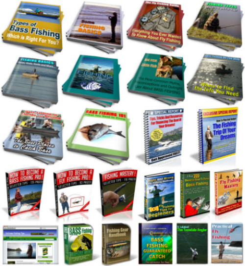 Pay for Fishing PLR Reports Package with Special Bonus