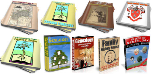 Pay for Family History, Genealogy PLR Reports Package with Special Bonus