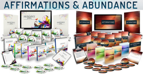 Pay for Affirmations And Abundance Twin Pack (10 eBooks, Video Course)