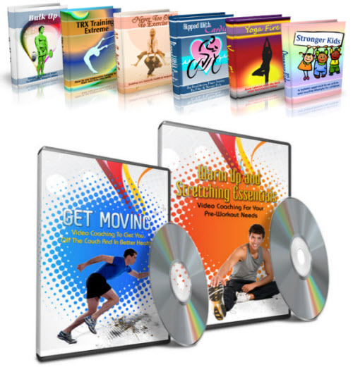 Pay for Fitness Fanatics Niche Packs (6 eBooks) - MRR
