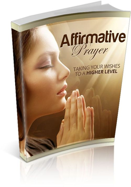 Pay for Affirmative Prayer MRR/ Giveaway Rights