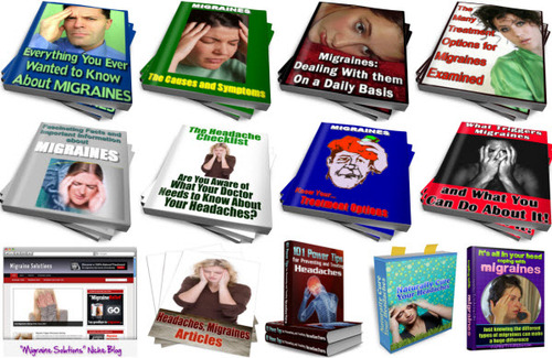 Pay for Headaches, Migraines PLR Reports Package with Special Bonus