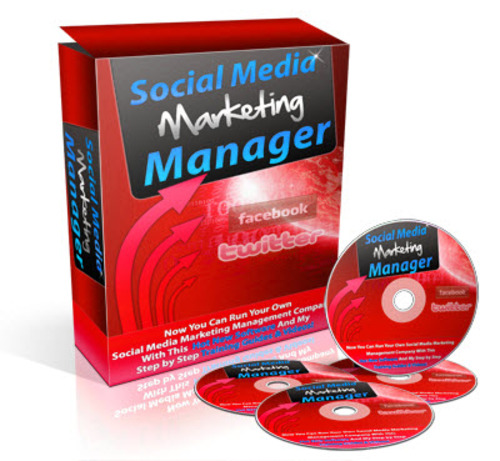 Pay for Social Media Marketing Manager PLR (eBook, Software and Video Course)