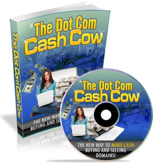 Free Dot Com Cash Cow PLR (eBook and Audio) Download thumbnail