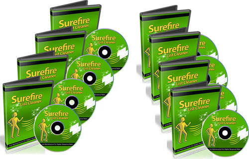 Pay for Surefire List Cleaner Video Course - PLR