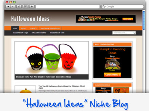 Pay for Halloween Niche Blog - Highly Optimized WP Blogs
