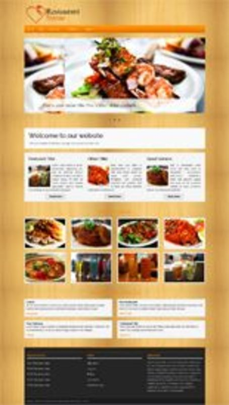 Pay for Restaurant Business WordPress Themes - Resale Rights