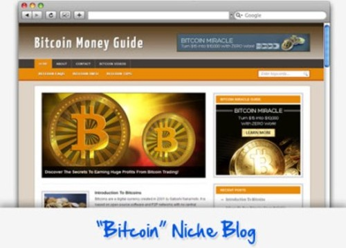 Pay for Bitcoin Mining Niche Blog - Highly Optimized Blogs