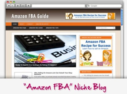 Pay for Amazon FBA Niche Blog - Highly Optimized Blogs