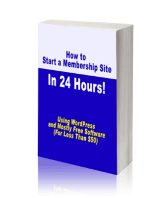 Pay for How to Start a Membership Site In 24 Hours! - PLR
