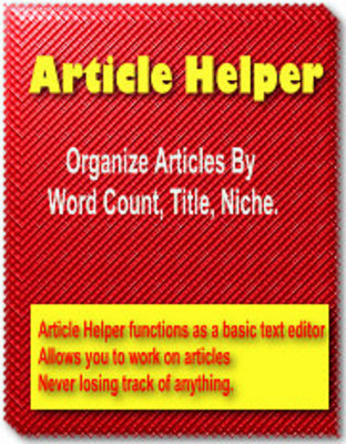Pay for Article Helper - Resell Rights