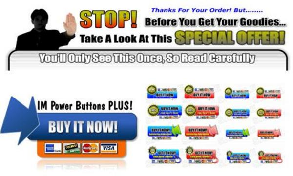 Pay for IM Power Buttons Plus With Master Resell Rights