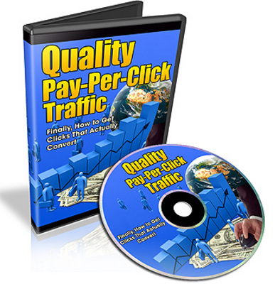 Pay for Quality Pay Per Click Traffic Video Series With MRR