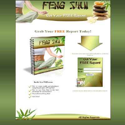 Pay for Feng Shui Minisite Template Pack Resale Rights Included
