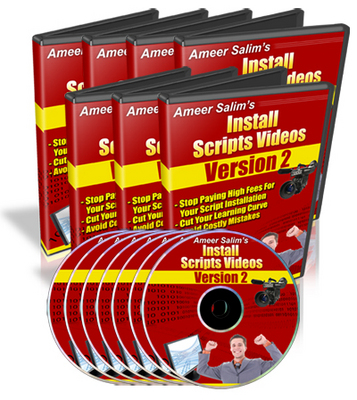 Pay for Install Scripts Videos V2: CGI & PHP Scripts Installed