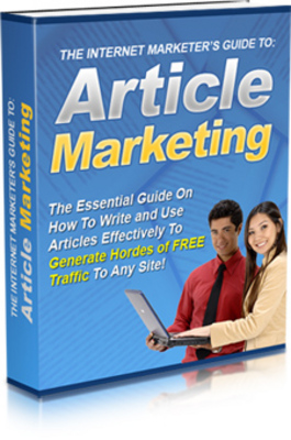 Pay for The Internet Marketers Guide Article Marketing MRR Ebook