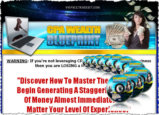 Pay for Cost Per Action (CPA) Wealth Blueprint Video Series - RR