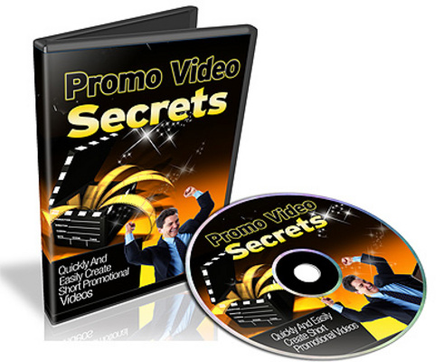 Pay for *NEW* Promo Video Secrets Video Series With Resale Rights
