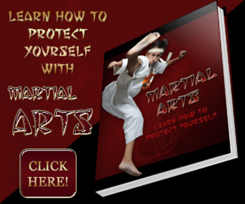 Pay for Martial Arts Turnkey Minisite Graphics - Learn How to Protect Yourself With PLR eBook