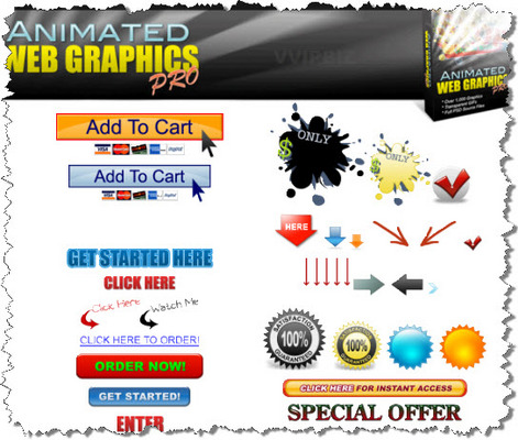 Pay for Animated Web Graphics Pro - PE