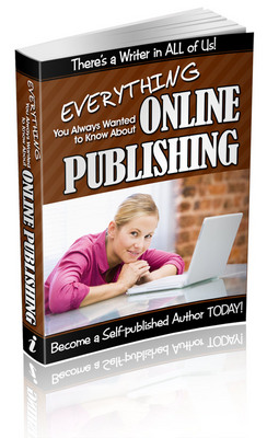 Pay for Online Publishing - Become a Self-Published Author TODAY + S