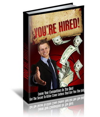 Pay for You re Hired Secret To Killer Cover Letters - MRR Included