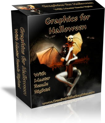 Pay for Graphics for Halloween with Master Resale Rights