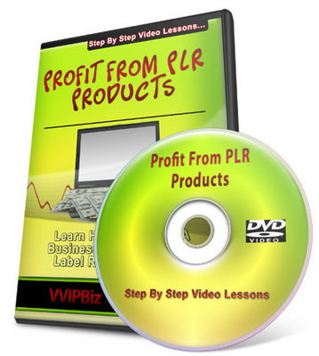 Pay for How To Profit From PLR Products Video Series + Special Bonus