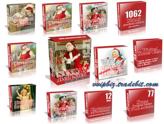 Pay for Christmas PLR - Santas PLR MRR Red Sack: !