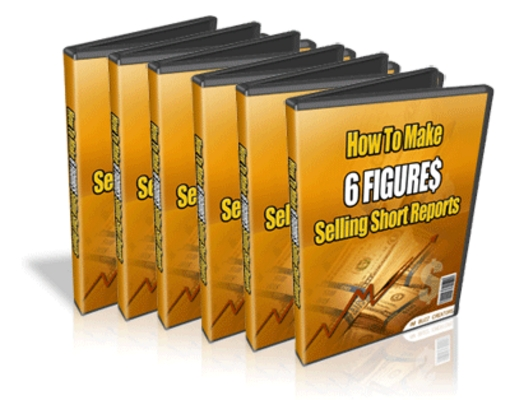 Pay for How to Make Six-Figures Selling Short Reports MRR