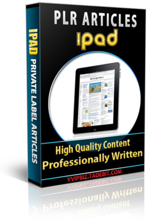 Pay for Apple iPad PLR Articles Packages!