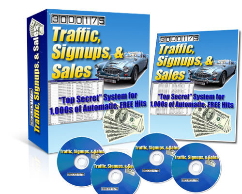 Pay for Traffic, Signup, & Sales System 1000s of Automatic FREE Hits