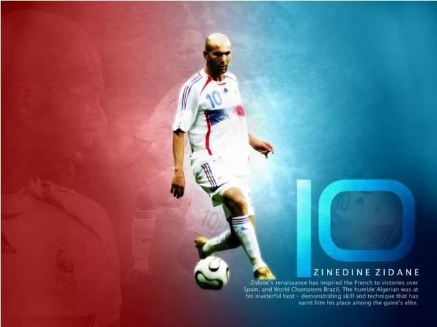 Pay for Zinedine Zidane wallpaper download