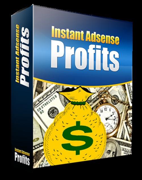 Pay for Google Instant Adsense Profits Video Training Course PLR