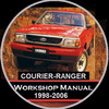 Thumbnail FORD COURIER - RANGER 1998-2006 PD-PE-PG Models WORKSHOP MAN