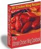 Thumbnail Chicken Wings Recipe Cook eBook (PLR)