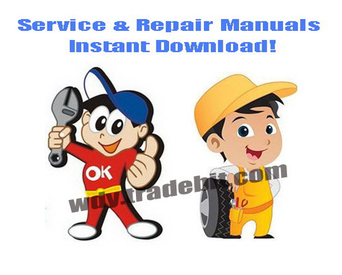 Pay for Komatsu CK35-1 Skid Steer Loader Service Repair Manual DOWNLOAD - F00003 and up