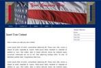 Thumbnail Web Template Patriotic USA