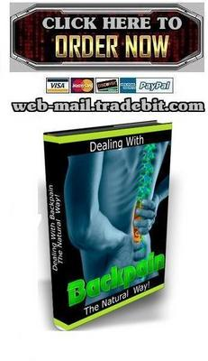 Pay for Dealing with Backpain the Natural Way