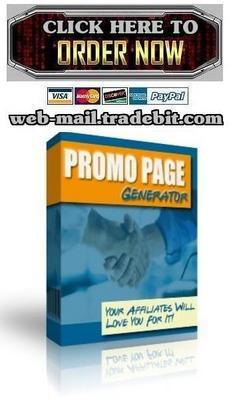 Pay for Promo Page Generator