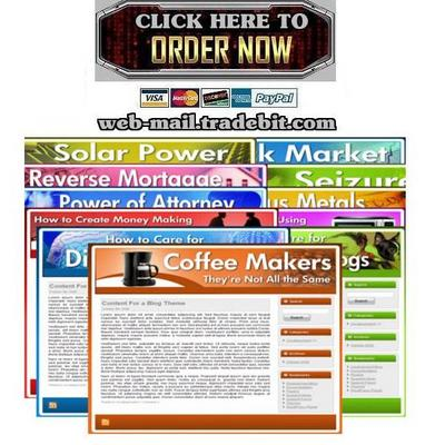 Pay for 12 Ready To Upload Niche Website Kits