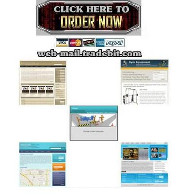 Pay for 5 HTML Templates