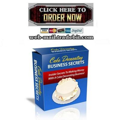 Pay for Cake Decorating Business Secrets